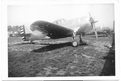 Curtiss P-36 Hawk Fighter Plane Army Air Corps Original Vintage Photo