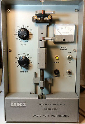 David KOPF DKI 700C PRECISION MICROPIPETTE PULLER with EXTRA HEATING COILs
