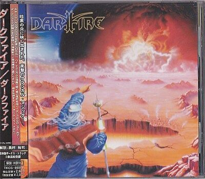 Dark Fire Selftitled Japan CD 2 Bonus Obi 2003 TKCS-85058