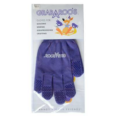 Grabaroo Quilting Gloves 3 Sizes Available Patchwork Sewing Free Motion Quilting