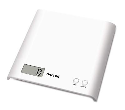 Salter Arc Digital Kitchen Scales – Electronic Food Weighing, Slim Design Scale