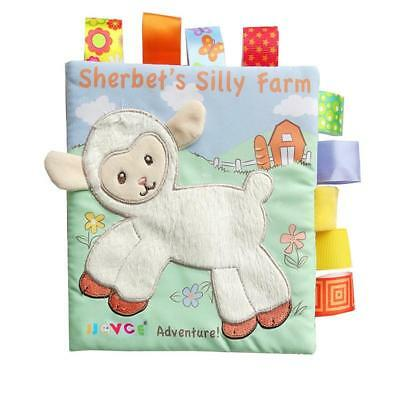 Cute Animal Story Book Baby Interactive Education Soft Cloth Book For Kids T