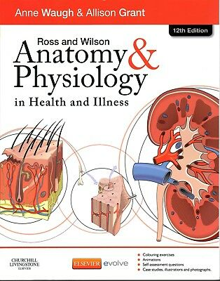 Ross & Wilson Anatomy And Physiology 12th Edition Digital PDF file