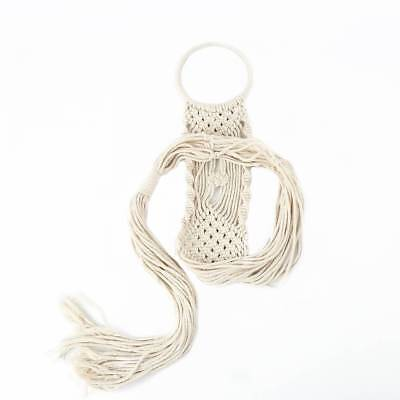 Macrame Plant Hanger Hanging Planter Basket Pot Cotton Rope Home Decor Boho
