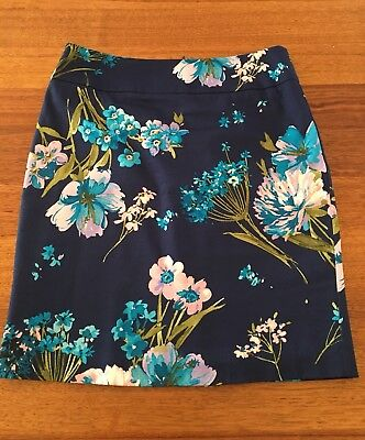 Beautiful Floral Review Skirt Size 10