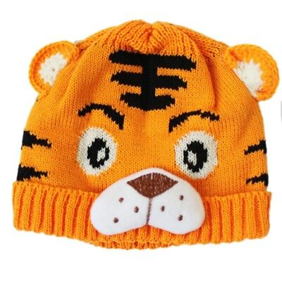 3X(1pc Toddlers Crochet Knit Cute Tiger Hat N2X6
