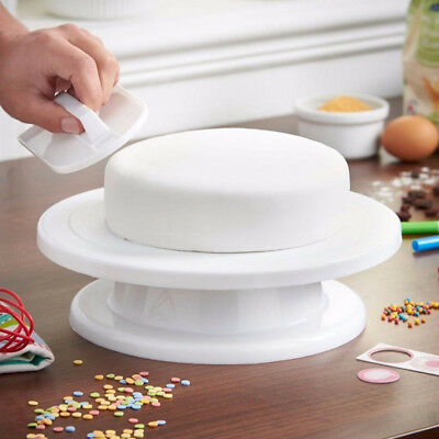 28 '' Rotating Cake Cake Turntable Stand Revolving Plate Strumenti di cottura