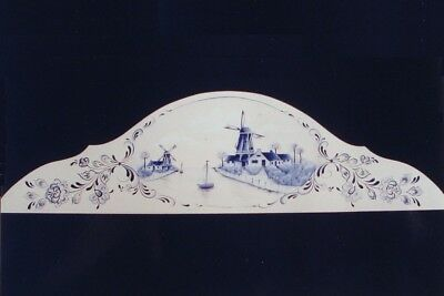 """Judy Diephouse/Lyn Deptula tole painting pattern """"Delft Door Crown"""""""