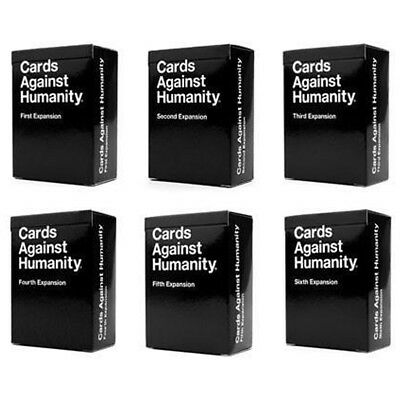 Cards Against Humanity 1, 2, 3, 4, 5, 6 Expansion Packs