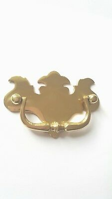 Quality Cast Brass Large Antique Style Furniture Chest Pull  Handles