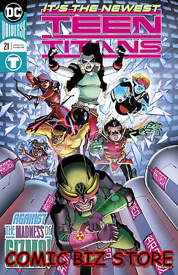 Teen Titans #21 (2018) 1St Printing Dc Universe Rebirth Bagged & Boarded