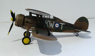 Oxford 1/72 diecast model Gladiator II 615 Sqn RAF Battle of France May 1940
