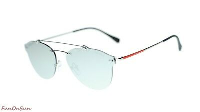 f9dbb5cda Prada Men Sunglasses PS55TS 1BC2B0 Silver/Light Grey Mirror Silver Lens 59mm