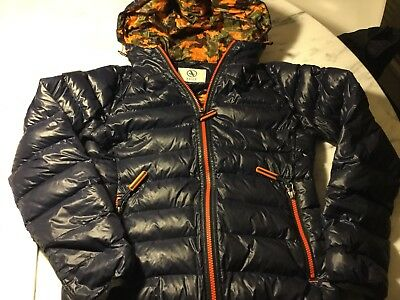 Aigle Children Navy/camouflage Down Jacket
