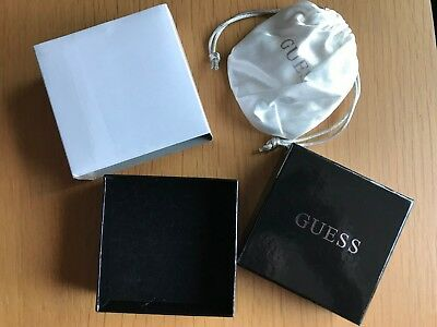Guess Jewellery Box, Cardboard, Good Condition