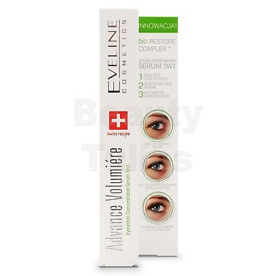 2 x Eveline Advanced Volumiere 3 in 1 - Eyelashes Concentrated Serum 10ml