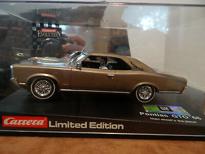 Carrera Evolution Pontiac GTO 66 Main Streets the place! Limited Edition 14,8 V