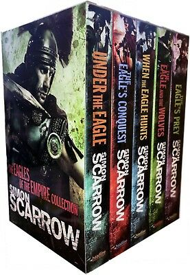 Simon Scarrow Eagles of the Empire 5 Book Collection (Brand New) Under the Eagle