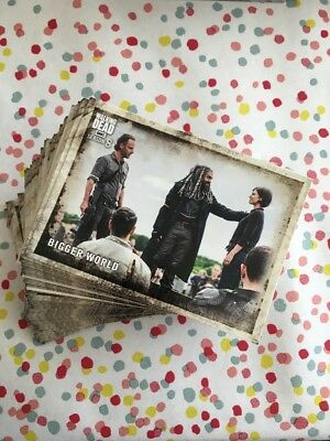 The Waking Dead Season 8 Part 1-Complete 90 Card Base Set