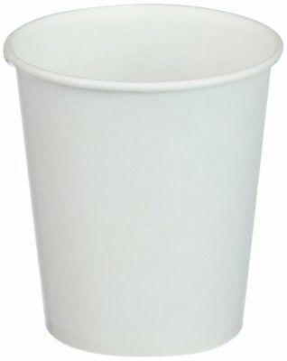 100-Pack White Paper Water Cups 3 oz Cup Party Drink Drinking Liquid Parties NEW