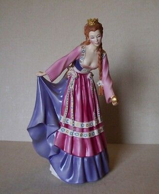 Vintage Franklin Mint House of Faberge Princess of the Glass Mountain Figurine