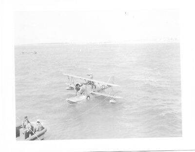 Grumman J2F Duck Plane Navy Original Vintage Photo