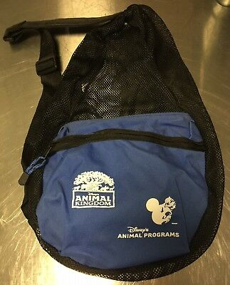 Disney's Animal Kingdom & Animal Programs Mesh Backpack -- RARE