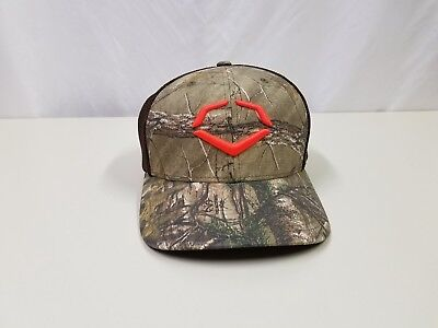 new product 1b678 d4525 Men s EvoShield Outdoor Hunting FlexFit Baseball Cap Camo   Brown Size ...