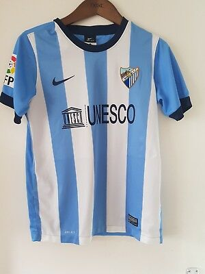Official Nike Malaga C.f Genuine Shirt Childs Large