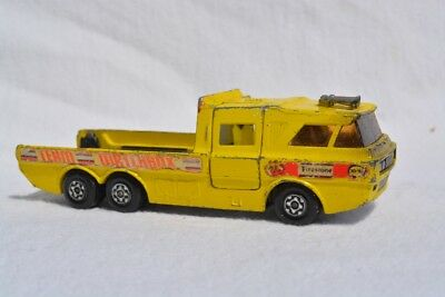 Alter Matchbox K-T Racing Car Transporter 1970er vintage England Lesney