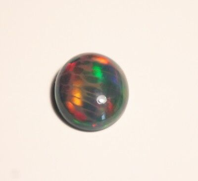2.56ct Welo Black Opal Cabochon - Banded Honeycomb AAA Opal - See Video