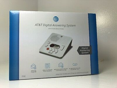 Answering Machine System Digital AT&T 60Min Recording Time Brand New Ships Free