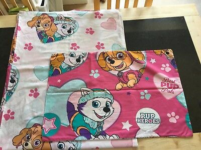 Nickelodeon Paw Patrol Junior Toddler Cot Bed Duvet Set Cover