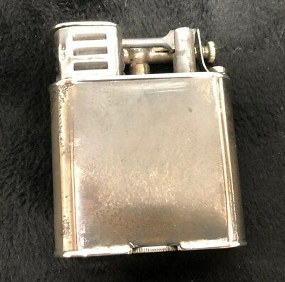 W&G for Dunhill Sport Lift Arm Lighter. .925 Sterling. 1927 UK Mint. Signed T8