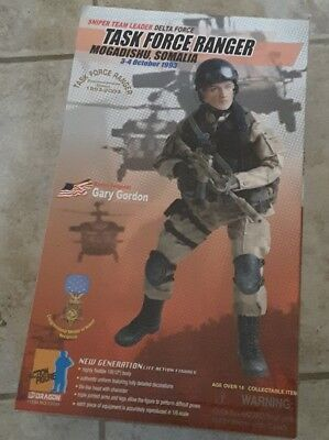 1/6  12' Dragon Limited Edition Somalia Mogadischu Delta Force Gary Gordon