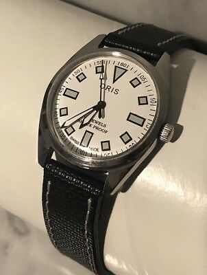 VINTAGE ORIS Men's Watch. Hand Winding, 17jewel, Swiss Made, Beautiful!