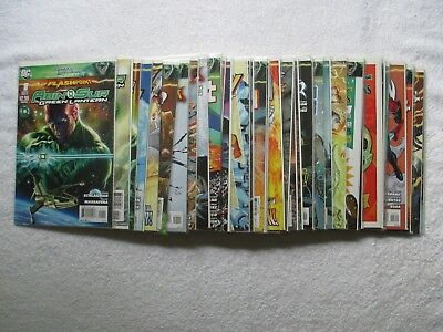 Lot Of 34 Flashpoint (2011-Dc) Comics ***see Details Inside***