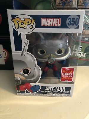 Funko Pop! Marvel #350 ANT-MAN 2018 SDCC Summer Convention Limited Edition
