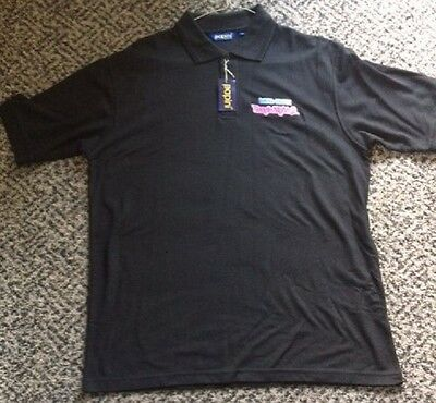 DAVID ESSEX  Boogie Nights 2 - Large black polo shirt