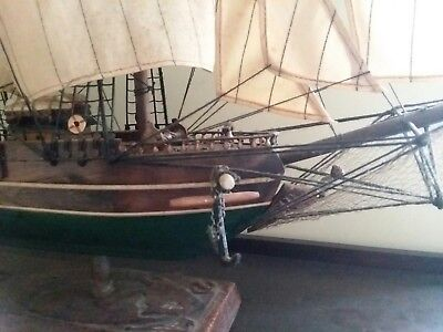 1853 Clipper Ship Young America Solid Wood