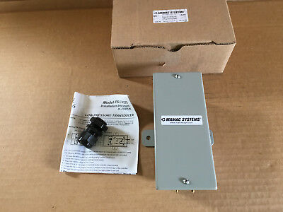 MAMAC Systems - PR-274-R2-MA - Enclosed Low Pressure Transducer