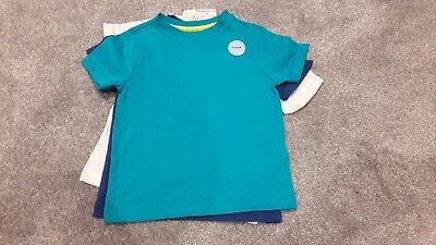 Boys BNWT Short Sleeve Bundle set of 3 T shirts age 3-4
