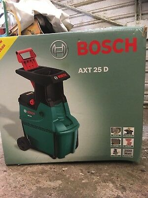 Garden Shredder Bosch Electric 2500W AXT 25D