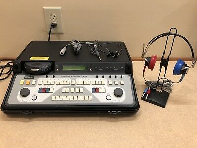 Starkey AA30, 2 Channel Portable Audiometer with Current Calibration Cert.
