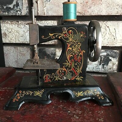 Antique Muller Child Toy Sewing Machine