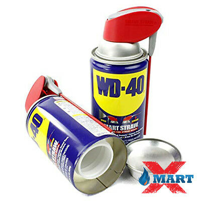 Wd 40 Brand New Hidden Lubricant Diversion Safe Home Herbal Stash Can-Wd40