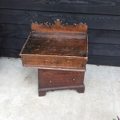 Welsh Pine Writing Slope  Box Chest Bible Box Farmhouse Country House Document