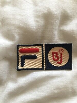 Fila Bj Settanta Patch Badge 1976 Borg Original Punch ONLY ONE IN EUROPE