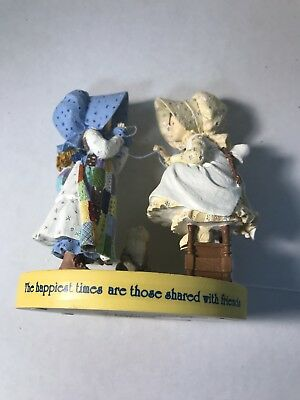 2006 Holly Hobbie The happiest times are those shared with friends Figurine