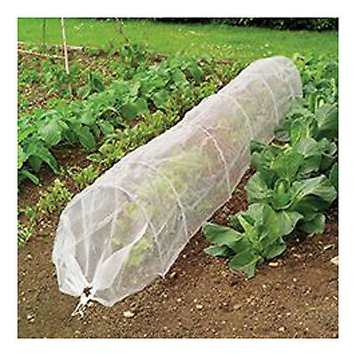 Garden Grow Tunnel, Insect Mesh, 18-In. x 10-Ft.